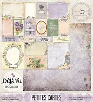 Deja Vu Collection (paper, clear stamps, chipboards)