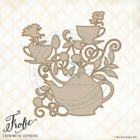 Blue Fern Studios - Chipboard - Tea Medley