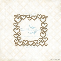 Blue Fern Studios - Chipboard - Heart Frame
