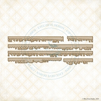 Blue Fern Studios - Chipboard - Notebook Edges