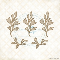 Blue Fern Studios - Chipboard - Seaweed