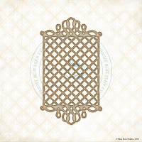 Blue Fern Studios - Chipboard - Boston Lattice