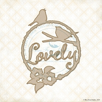 Blue Fern Studios - Chipboard - Lovely Birds