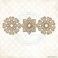 Blue Fern Studios - Chipboard - Heart Essentials