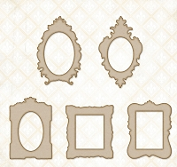 Blue Fern Studios - Chipboard - Petite Boutique Frames