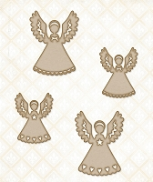 Blue Fern Studios - Chipboard - Little Angels