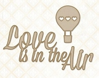 Blue Fern Studios - Chipboard - Love Is In The Air