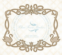 Blue Fern Studios - Chipboard - Swan Frame