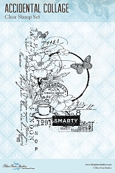 Blue Fern Studios - Clear Stamp - Accidental Collage