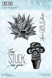 Blue Fern Studios - Clear Stamp - Cactus