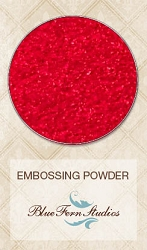 Blue Fern Studios - Imagine Ink Embossing Powder - Pure Red (1oz)