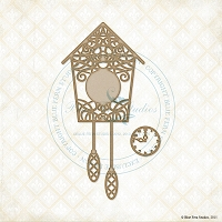 Blue Fern Studios - Chipboard - Cuckoo Clock