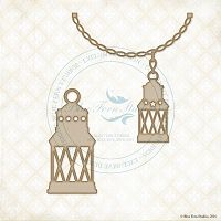 Blue Fern Studios - Chipboard - Seaside Lanterns