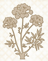 Blue Fern Studios - Chipboard - Meadow Angelica