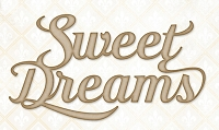 Blue Fern Studios - Chipboard - Sweet Dreams
