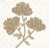 Blue Fern Studios - Chipboard - Wild Field Stem