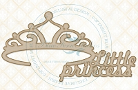 Blue Fern Studios - Chipboard - Little Princess