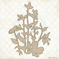 Blue Fern Studios - Chipboard - Tranquil Foliage