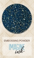 Blue Fern Studios - Imagine Ink Embossing Powder - Golden Seas (1oz)