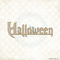 Blue Fern Studios - Chipboard - Halloween