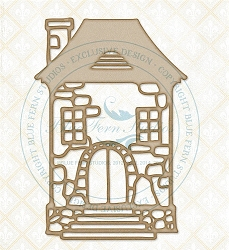 Blue Fern Studios - Chipboard - Stone Cottage