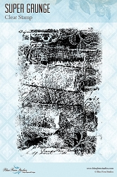 Blue Fern Studios - Clear Stamp - Super Grunge