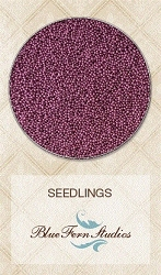Blue Fern Studios - Seedlings Micro Beads - Red Grape (1oz)