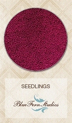 Blue Fern Studios - Seedlings Micro Beads - Maroon (1oz)