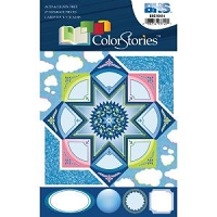 Blue Hills Studio - Color Stories - Blue Cardstock Stickers