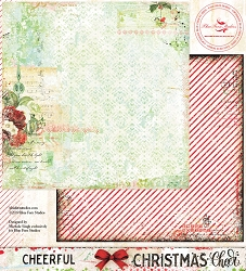 Blue Fern Studios - Christmas Cheer Collection Cheerful 12