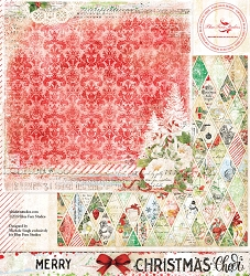Blue Fern Studios - Christmas Cheer Collection Merry 12