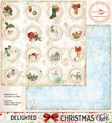 Blue Fern Studios - Christmas Cheer Collection Delighted 12