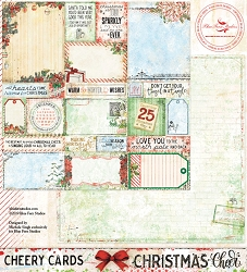 Blue Fern Studios - Christmas Cheer Collection Cheery Cards 12