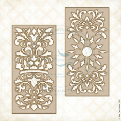 Blue Fern Studios - Destiny's Panels Chipboard