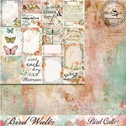 Blue Fern Studios - Bird Waltz Collection Bird Calls 12