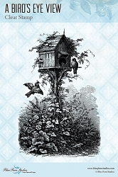 Blue Fern Studios - A Birds Eye View Clear Stamp