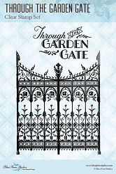 Blue Fern Studios - Through the Garden Gate Clear Stamp