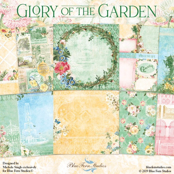 Blue Fern Studios - Glory of the Garden Collection