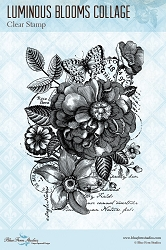 Blue Fern Studios - Luminous Blooms Clear Stamp