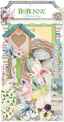 Bo Bunny - Serendipity Collection - Noteworthy Die-Cuts