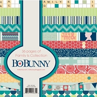 Bo Bunny - Family Is Collection - 6x6 Paper Pad
