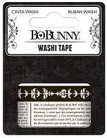 Bo Bunny - Washi Tape - Black & White Pattern :)