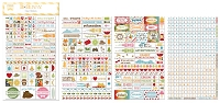Bo Bunny - Beach Therapy Collection - Summer Fun Clear Stickers