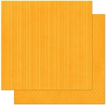 Bo-Bunny - Double Dot Cardstock - Orange Citrus Stripe