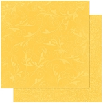Bo-Bunny - Double Dot Cardstock - Buttercup Flourish
