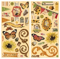 Bo Bunny - Enchanted Harvest Collection - Chipboard