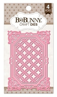 Bo Bunny - Cutting Dies - 3x4 Lattice Frames Dies (set of 4 dies) :)