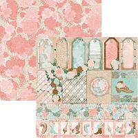 Bo Bunny - Felicity Collection - Trellis 12