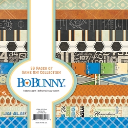 Bo Bunny - Game On! Collection - 6x6 Paper Pad :)