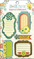 Bo Bunny - Hello Sunshine Collection - Layered Chipboard
